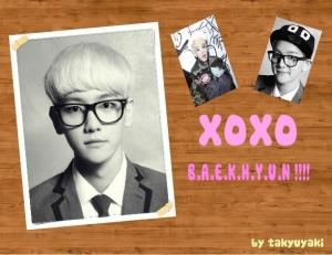 [ONE SHOT] XOXO Baekhyun!!!!