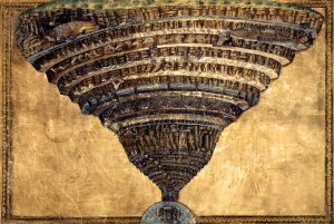 Map of Hell by Botticelli